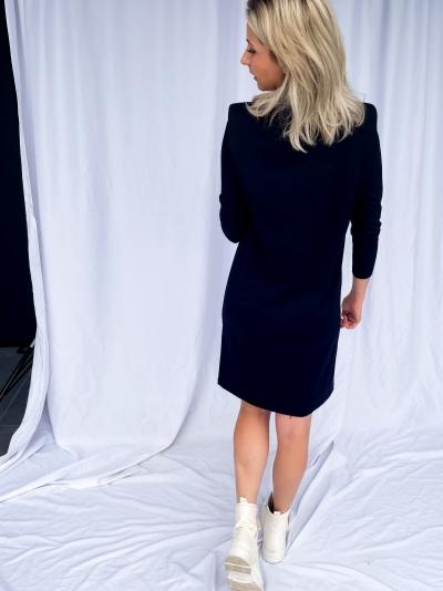 Eduarda Tee dress black