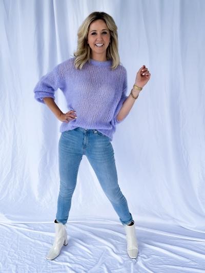 Alexa Ankle denim blue