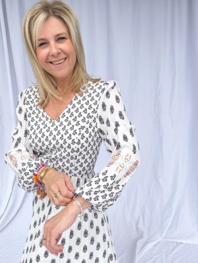 Johanna dress white