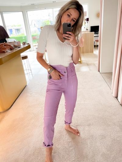 Zora Flash jeans purple