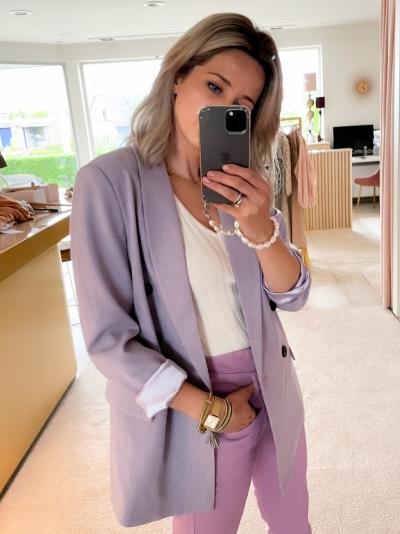 Prince blazer purple