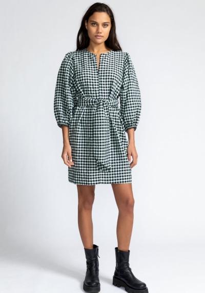 Charlie Belted dress mint