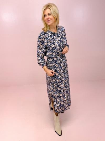 Regitze dress blauw