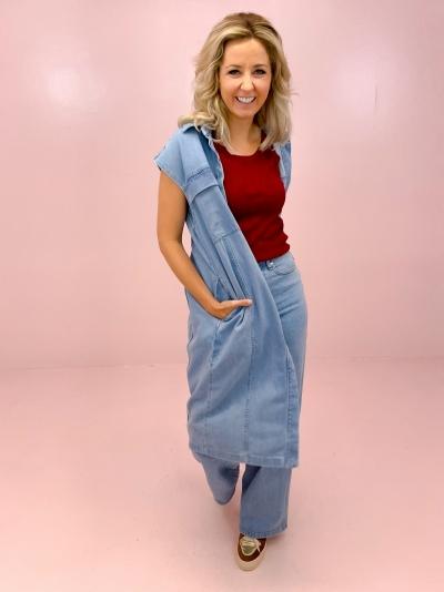 Alba Dress light blue