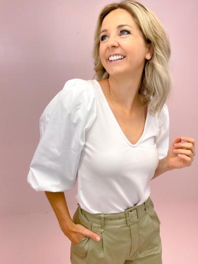 Nema blouse logo