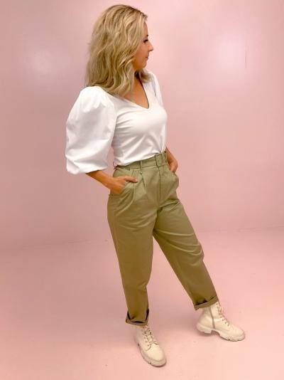 Nema blouse bright white