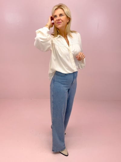 Jeffie Jacinda Shirt-Blouse sugar