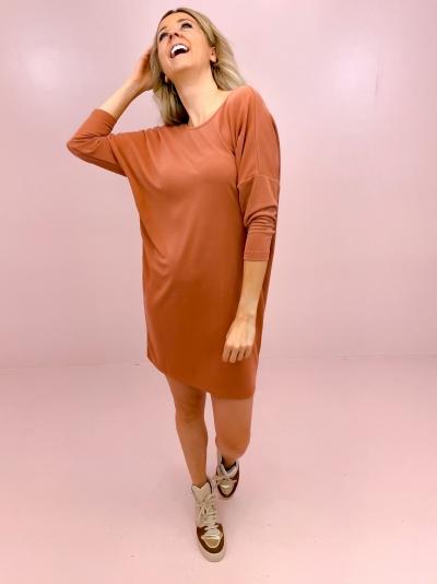 Nuala dress canyon rose
