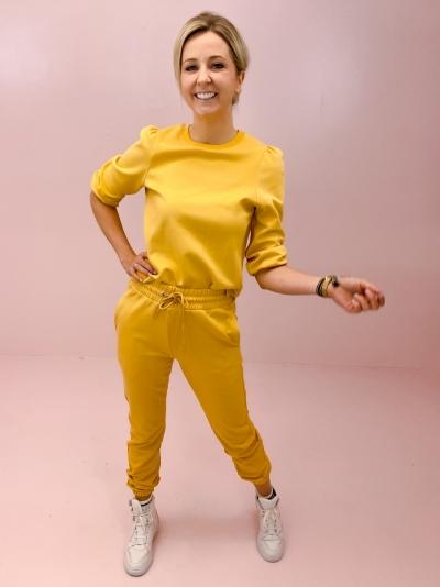 Jess Nunna Tee ochre