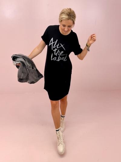 Alix Sweat dress black
