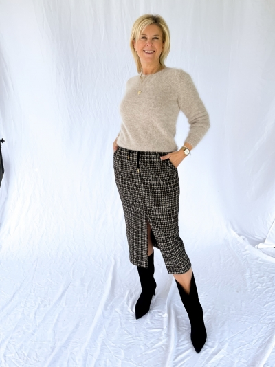 Rascal Skirt brown check