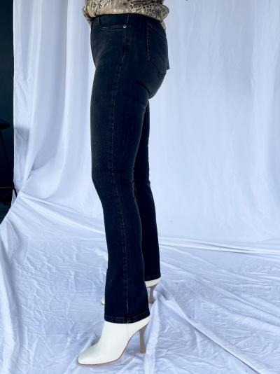 Jeans droit logo