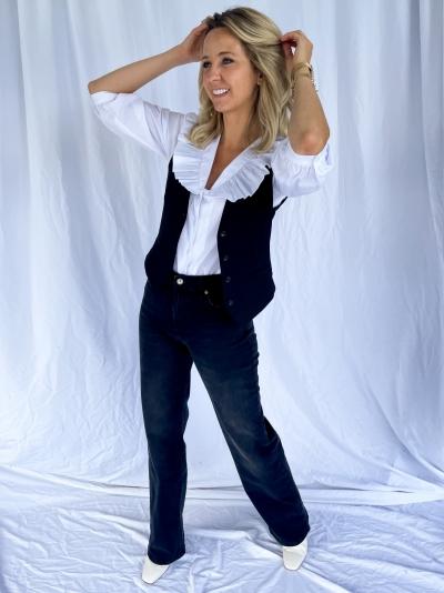 Brisa Ava shirt bright white