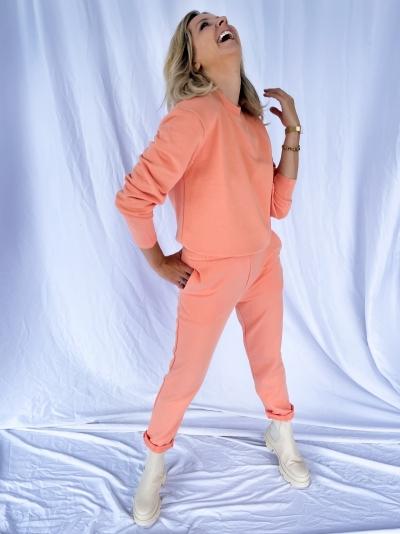 Cocoon Sweatpants peach