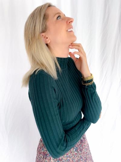 Minno Magen knit logo