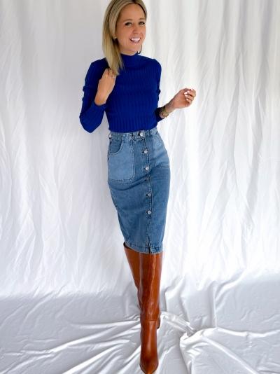 Minno Magen knit reflex blue
