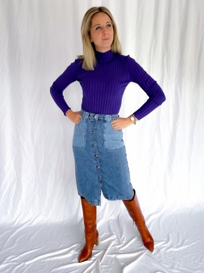 Minno Magen knit prism violet