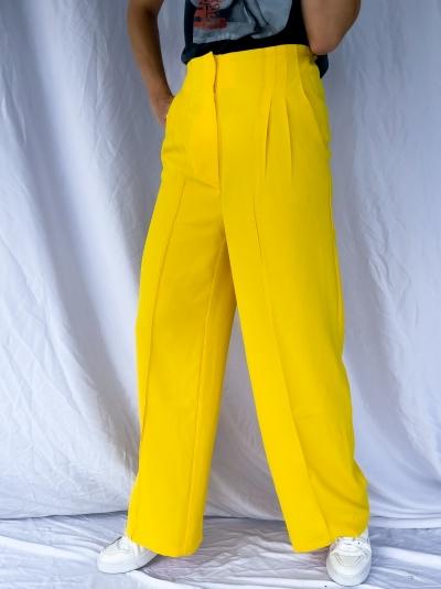 Flowy yellow logo