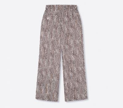 Dots flowy pants animal