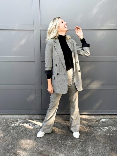 Marisol blazer black/white