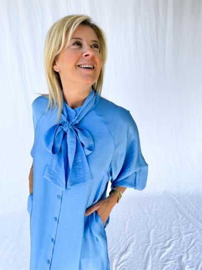 Luella dress little boy blue