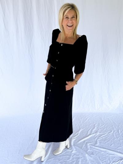 Malia dress black