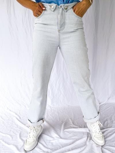 Fold up jeans logo