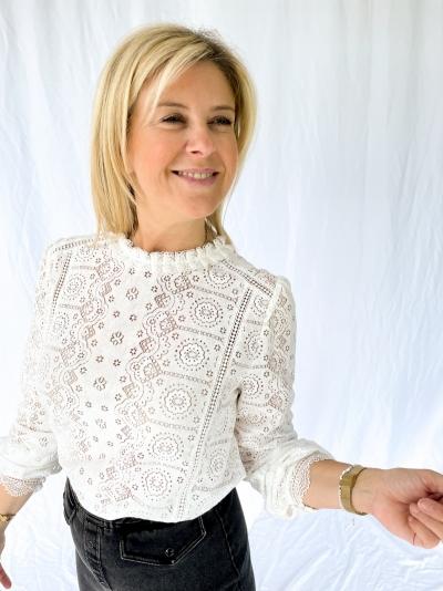 Fianna blouse white