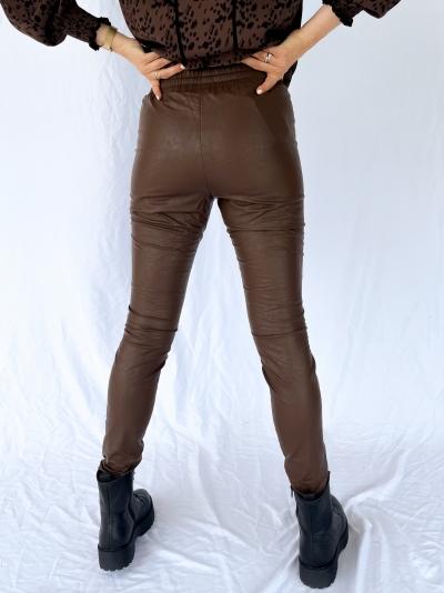 Skin Fatale Vegan legging brown