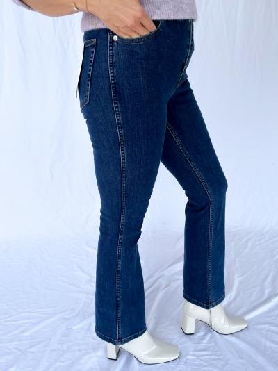 Emilinda 7-8 flared jeans logo