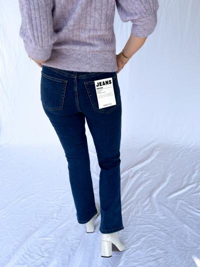 Emilinda 7-8 flared jeans denim blue