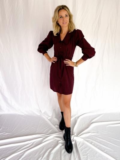 Danette dress terracotta
