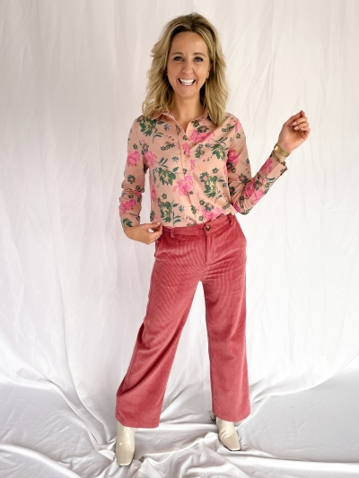 Diane blouse beige