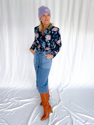 Diane blouse marine