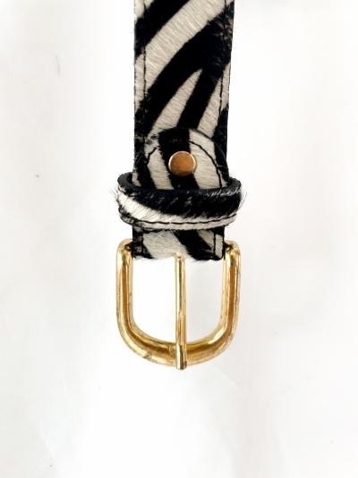 Animal ceinture zebre
