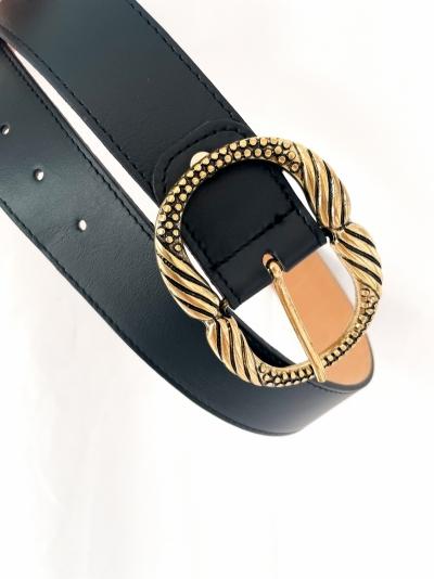 Jurk ceinture logo