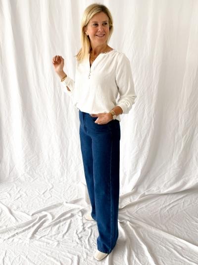 Flare jeans medium blue