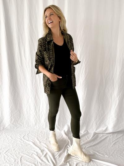 Artemis jeans kaki