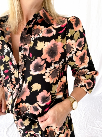 Kaban blouse noir