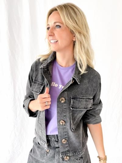 Bogata jeans jacket logo
