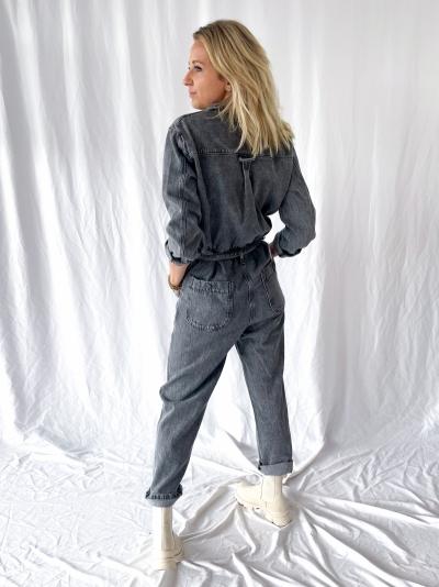 Tizanie jumpsuit gris poivre