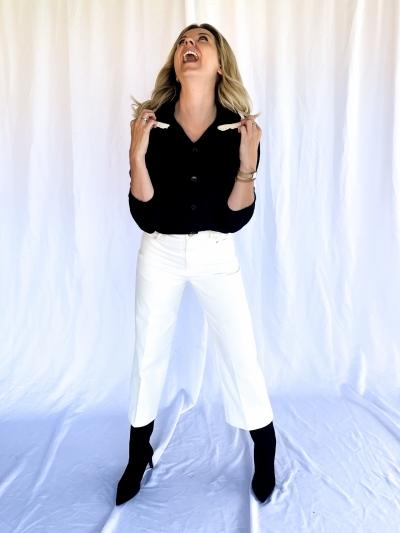 Meredith cardigan black