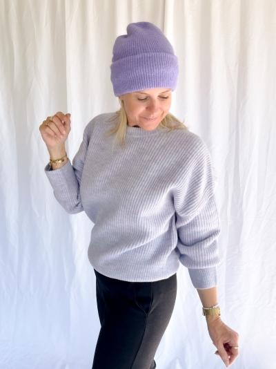 Shyla Gillian knit light blue mela