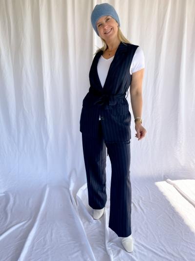 Susian Waistcoat maritime blue