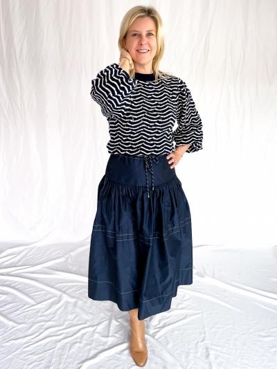 Calypso skirt maritime blue