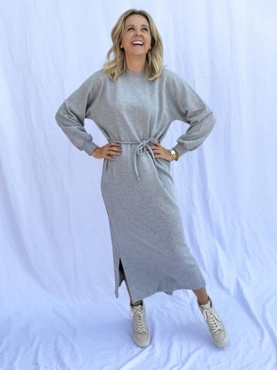 Fjorder dress grey melee
