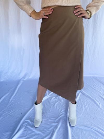 Sori rok flanel brown