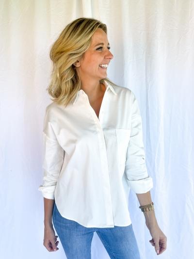 Babble blouse white