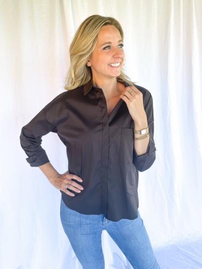 Babble blouse brown