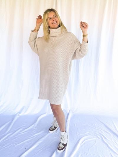 Doll dress beige